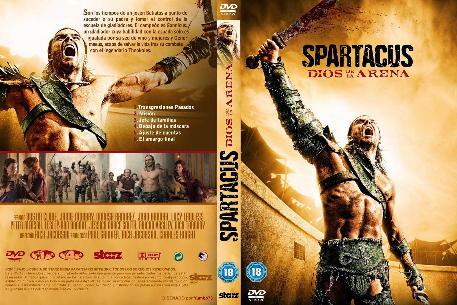 ANIME Y SERIES : Descarga Gratis: Spartacus Todas Las Temporadas ...