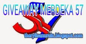 Giveaway Merdeka 57, GIVEAWAY, GIVEAWAY AKU SPONSOR, PROMOSI, Jom Support Giveaway Merdeka 57 by Mawar Biru, Sambutan kemerdekaan ke 57 Malaysia, Malaysia, Mawar biru, kizmyself, Blog ieta, Hari Malaysia,