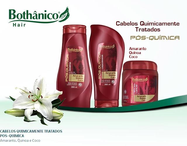 shampoo, condicionador, pós química
