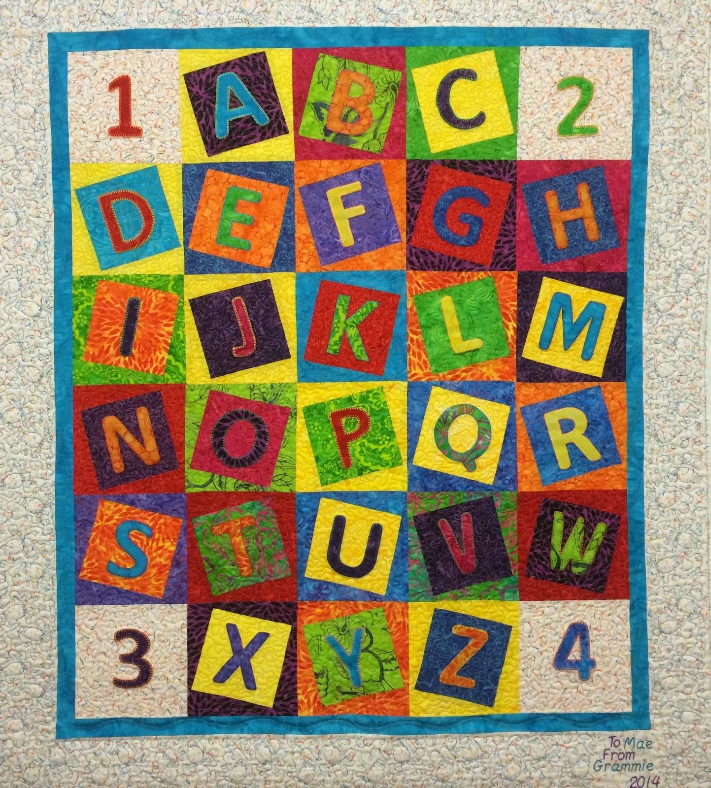 Patricia Boysen Alphabet Quilt