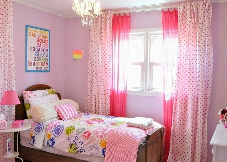 Girl bedroom ideas with pink walls