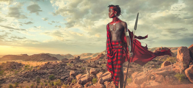 Impresionantes imágenes de los Guerreros Maasai por Lee Howell