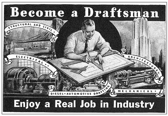 become a draftsman