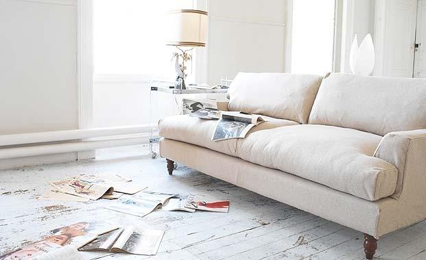 La Petite Gigi Room Re Do Distressed Wood Floors