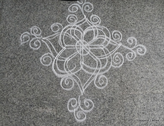 Daily Simple Rangoli Design