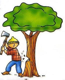 El medio ambiente la tala de rboles for Como talar un arbol