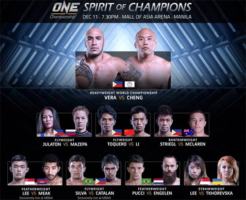 one championship spirit ofchampions results fight card live stream
