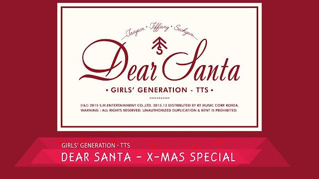 Download Lirik Lagu TTS SNSD Dear Santa Dan Terjemahan