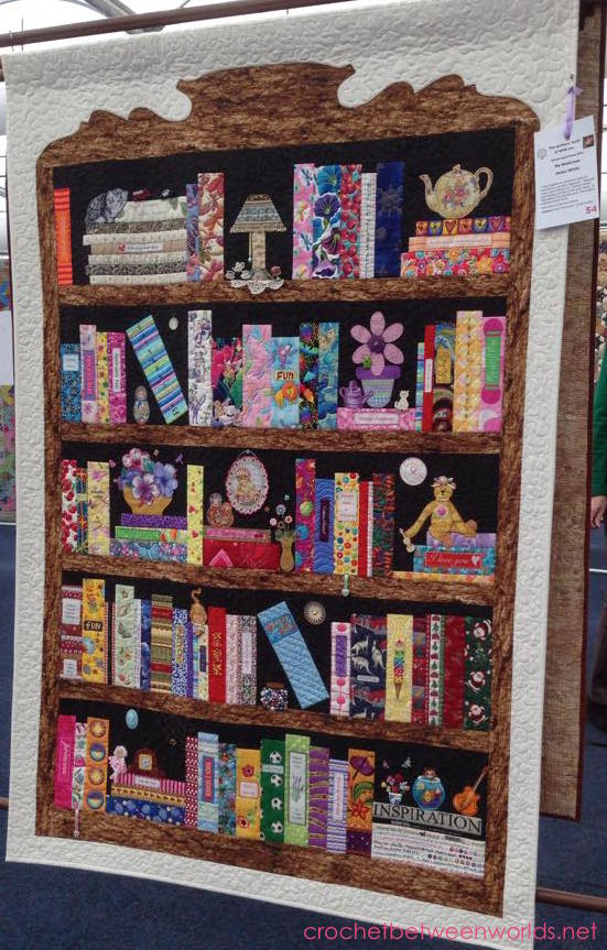 Crochet between worlds: Captain Poprocks visits the Sydney Craft and Quilt Fair 2015
