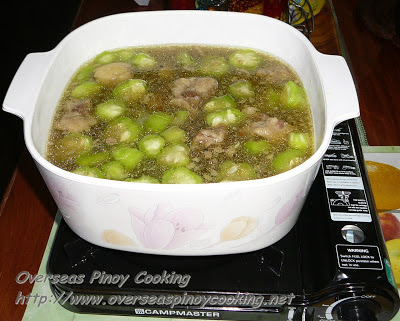Nilagang Baka with Patola