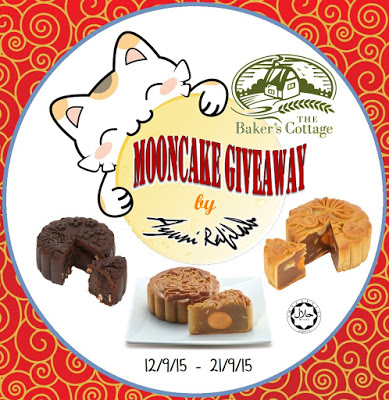 The Baker's Cottage Mooncake Giveaway By Ayuni Rafilah