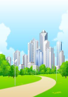 Dibujos de ciudades para imprimir