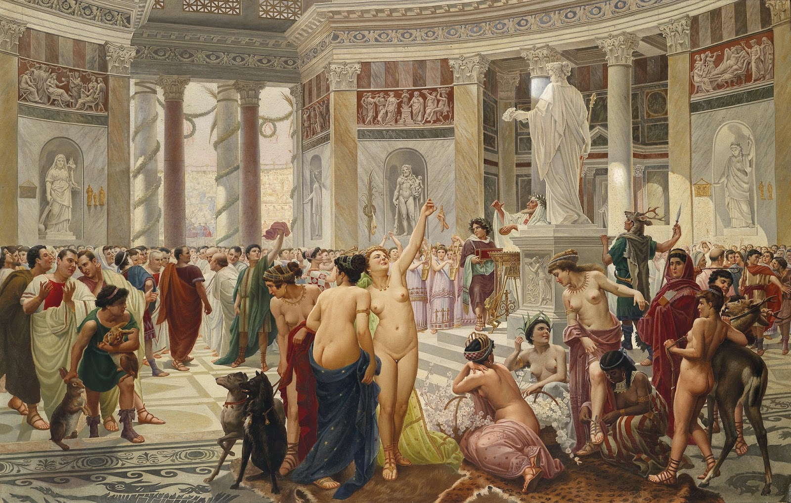 Секс оргии в древнем мире 21 фотография