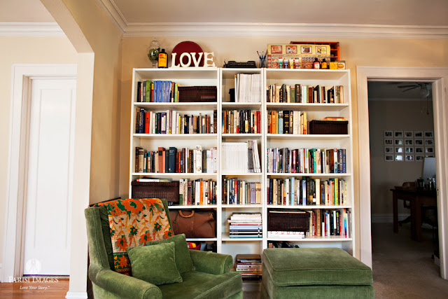 ikea_bookshelves_white_vintage_bungalow_chicago farm blog this beautiful life