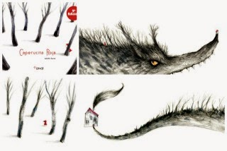 Llibre infantil caperucita roja