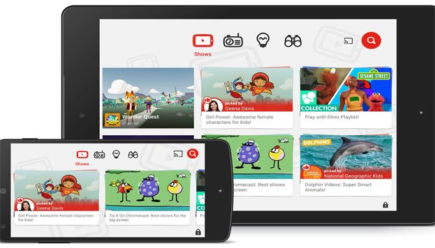 تطبيق YouTube Kids يأتي بمميزات وإضافات جديدة وجميلة للأطفال والأباء من أجل حماية طفلك بشكل أفضل والإستمتاع بالفيديوهات الجديدة