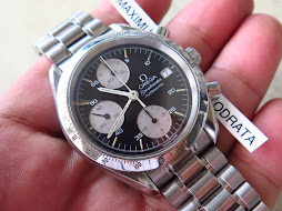 OMEGA SPEEDMASTER CHRONOGRAPH BLACK DIAL - AUTOMATIC