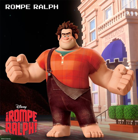¡Rompe Ralp! el héroe de la película
