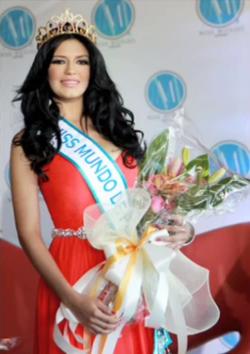 Miss World Mundo de Puerto Rico 2012 Janelee Marie Chaparro Colon