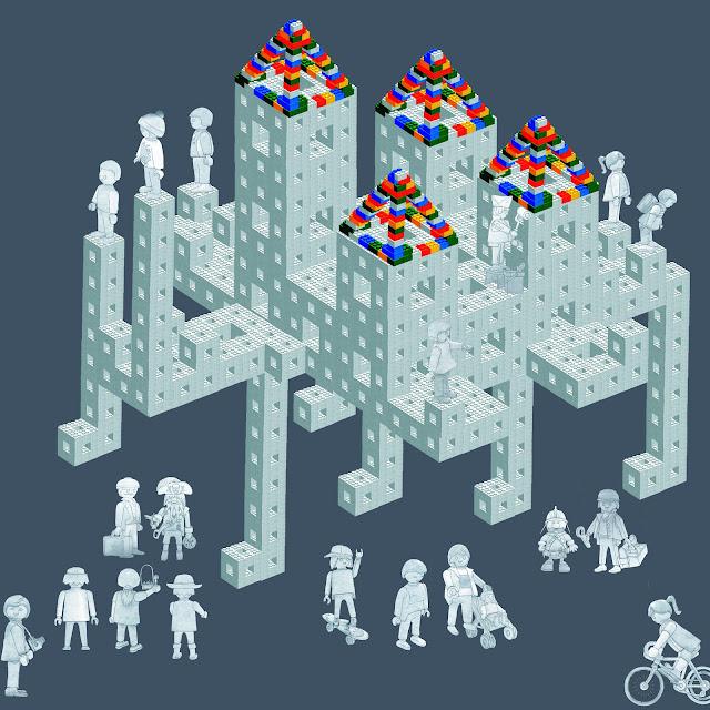 legos, playmovil, Escher, fractales, dibujo, infogtrafia,