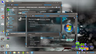 Resonance VS Theme For Windows 7 Full Glass