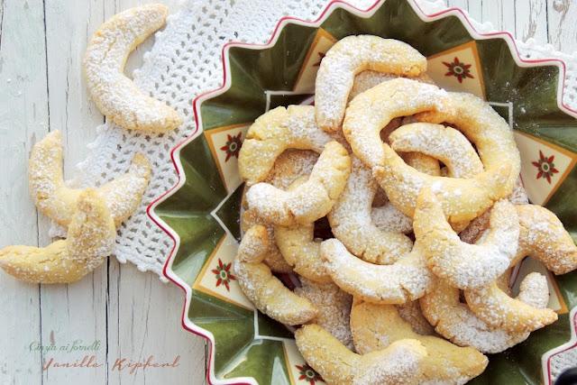 vanille kipferl biscotti natalizi col bimby