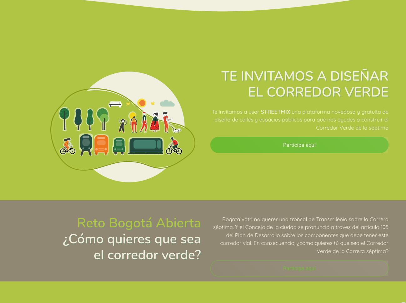 Diseña el Corredor Verde
