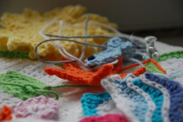 image of crochet work