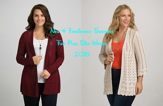 New &amp Fashionable Sweaters For Plus Size Women By Dress Barn From ...