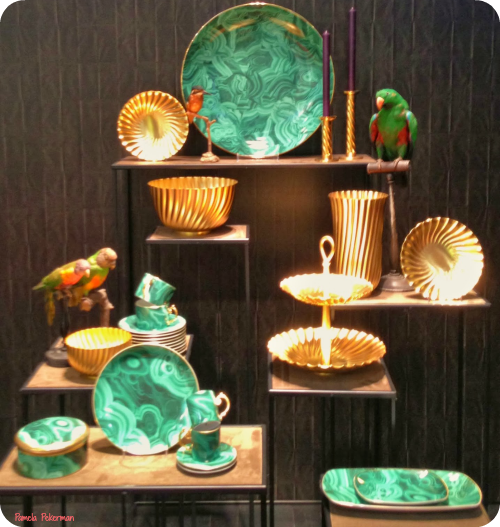 Home Decor Hostess Gifts: Pamela Pekerman: P2 Fashion: Malachite Jewelry And Home
