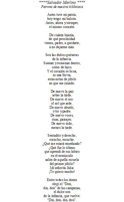 Poemas a mi escuela por su aniversario - Imagui
