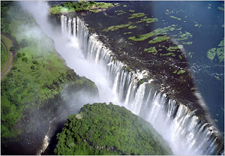 Victoria Falls Amazing Waterfall
