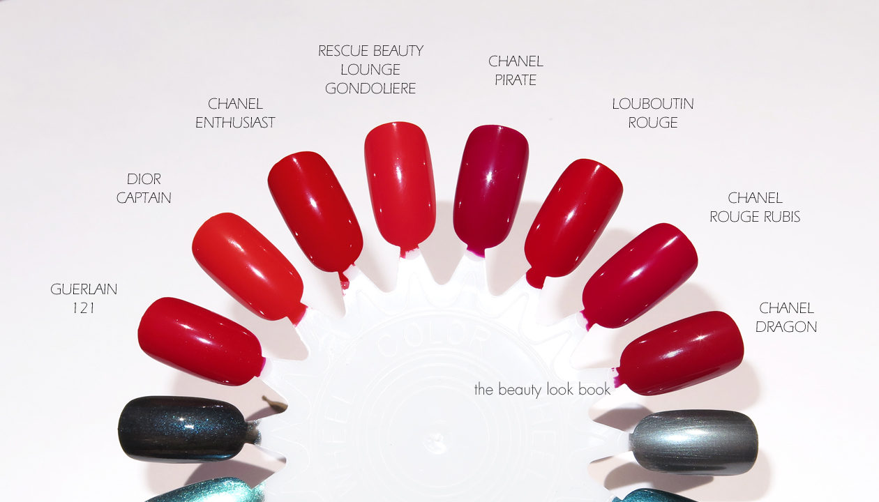 Louboutin Rouge Nail Colour | The Beauty Look Book
