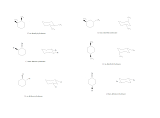 how to draw chair conformation of decalin