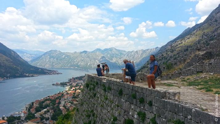 Смотровая площадка крепостной стены, Черногория
