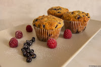 Muffins With Forest Fruits Comercial Photography