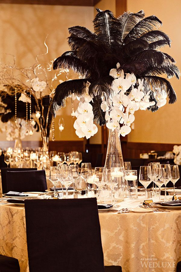 Sonal J Shah Event Consultants LLC Black And White Reception Ideas