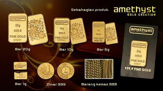 Katalog Emas Amethyst