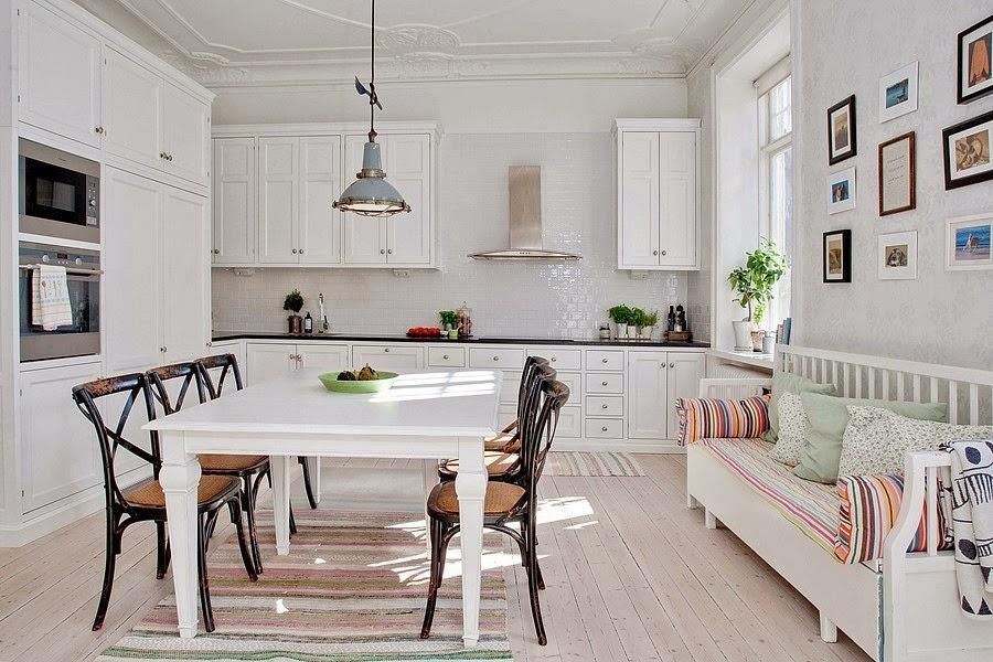 wystrój wnętrz, wnętrza, urządzanie mieszkania, dom, home decor, dekoracje, aranżacje, białe wnętrza, styl skandynawski, kuchnia