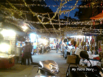 Festooned Markets of Haridwar on the occasion of Diwali