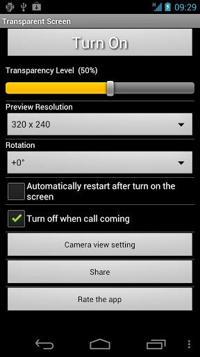 Membuat Layar Android Transparan Dengan Transparent Screen