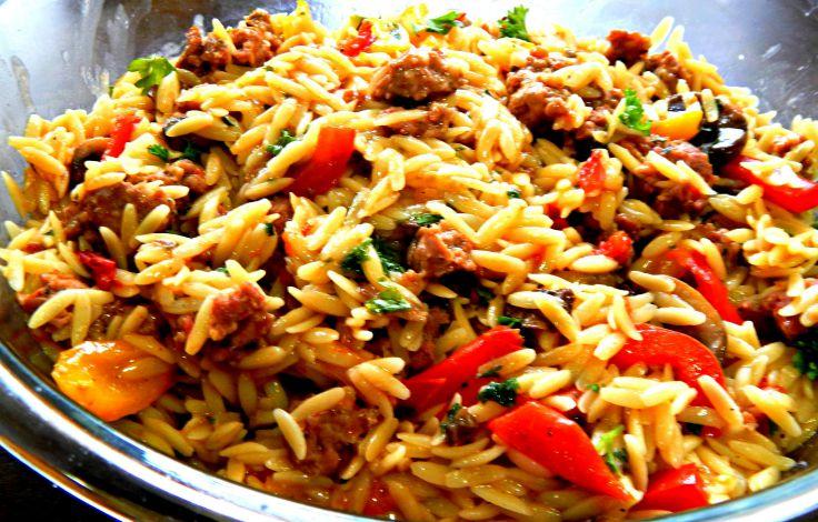 Orzo pasta recipes with pork