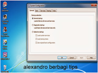 Tips Mempercepat Booting Komputer Windows 7
