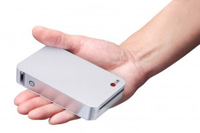photo pocket printer from LG