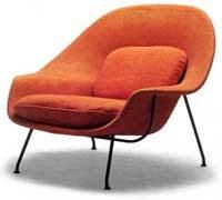 Sillón Womb de Eero Saarinen