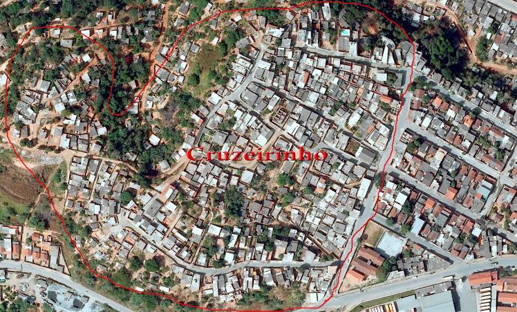 Mapa Do Morro Do Cruzeirinho