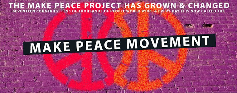 MAKE PEACE MOVEMENT EXPLODES!