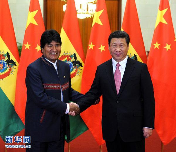 China en Bolivia