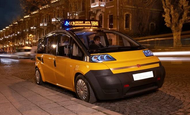 Karsan yellow cab