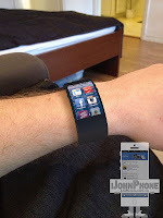 Posible diseño del iWatch